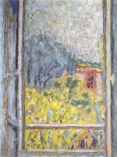 Masters paintings and shops on pinterest for Pierre bonnard la fenetre