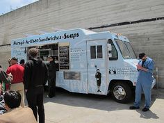 "The Old World Food Truck -- Jewish Soul Food at the New Mission Dispatch ""Pod"" (18th & Bryant)"