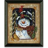 Found it at Wayfair - Timeless Frames Feeding The Birds Winter and Holiday Art Print