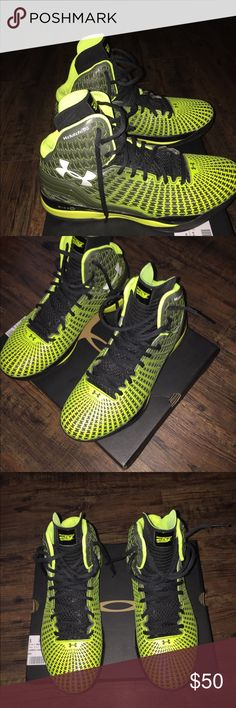 Under armour basketball shoes Great condition , used once but have been cleaned , size 9 men / 10.5 women. Under Armour Shoes Athletic Shoes