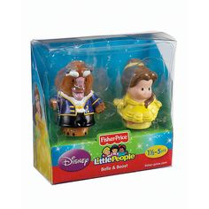"Fisher-Price Little People Disney Princess Figures 2-Pack - Belle and Beast - Fisher-Price - Toys ""R"" Us"