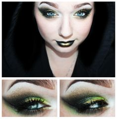 Very cool Loki inspired makeup. Love it. The Avengers: Loki by Unique-Desire.deviantart.com on @deviantART