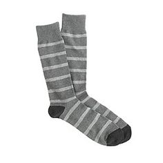 Naval-stripe socks $16.50