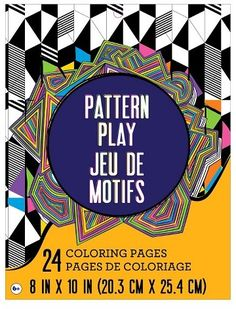 Golden Ratio Coloring Book And Other Mathematical Patterns Inspired By Nature Art Paperback
