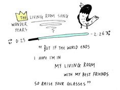 Living Room Song The Wonder Years Lyrics