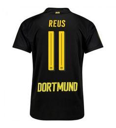 Billiga Fotbollströjor Dortmund Marco Reus 11 Bortatröja 17-18 Sports, Tops, Marco Reus, Borussia Dortmund, Sport, Shell Tops