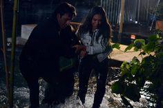 Ryan Guzman (Jake) , Tammin Sursok (Jenna Marshall) , & Shay Mitchell (Emily Fields) - Pretty Little Liars