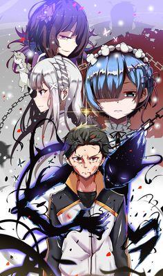 Re zero Lara hajimeru isekai seikatsu - Anime Fan Art Anime, M Anime, Anime Watch, Light Novel, Anime No Sekai, Rem Re Zero, Re Zero Wallpaper, Tous Les Anime, Hxh Characters