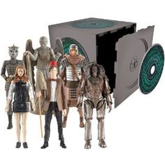 Doctor Who Series 5 Pandorica Action Figure Set... Picked these all up at Comic Con last year.  Just got around to opening them last week!