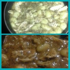chicken bruscetta gnocchi. you can find all the ingredients at dollar tree. this meal cost me 2 dollars!!!