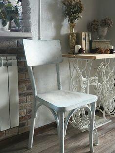 Перекраска, перекраска мебели, старая мебель, перекраска старой мебели, стул, ретро, винтаж, станина, декор, декор дома, своими руками