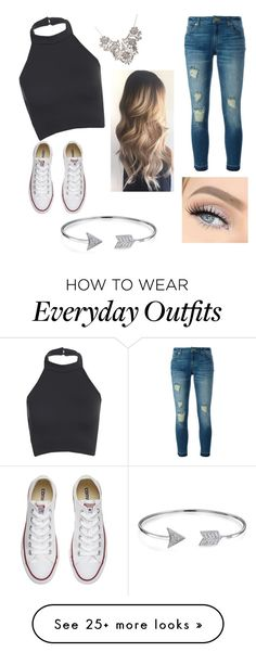 """Everyday outfit"" by addheg on Polyvore featuring MICHAEL Michael Kors, Converse and Bling Jewelry"