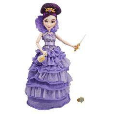 "Disney Descendants - Auradon Kids - Mal in Coronation Outfit - Hasbro - Toys ""R"" Us Disney Descendants Dolls, Les Descendants, Disney Dolls, Disney Jr, Disney Ideas, Disney Junior, Disney Stuff, Pixar, Modern Day Disney"