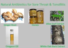 natural antibiotics for tonsillitis