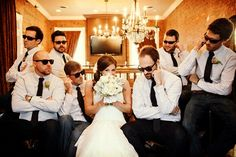 Ideas de fotos con los damos de la boda