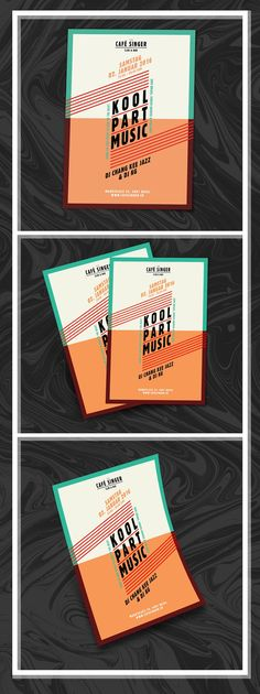 Examples and Ideas for the Design of Event Flyers - Daily Design Inspiration # 20 Event Poster Template, Event Poster Design, Creative Poster Design, Creative Brochure, Event Flyer Templates, Creative Posters, Flyer Design Inspiration, Design Ideas, Mad Design
