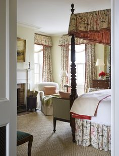 Traditional Bedroom in Hudson Valley, NY by G. P. Schafer Architect