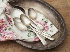 Beautiful silver plated cutlery