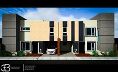 Proyecto viviendas pareadas