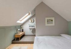 45 Amazing Attic Bedroom Ideas On A Budget Attic Bedroom Small, Attic Bedrooms, Attic Loft, Attic Spaces, Closet Bedroom, Small Spaces, Attic Wardrobe, Attic Renovation, Attic Remodel