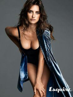 The Exclusive Photos of Penélope Cruz, the Sexiest Woman Alive