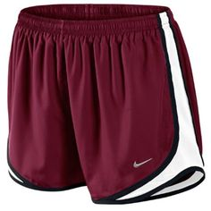 "Nike Women's Tempo 3.5"" Running Short - Any running shorts (large), really. The only important thing is that they have a pocket."