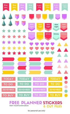 1000 images about agenda escolar on pinterest planner for Stickers de pared