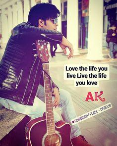 leatherjacketmen #leatherjacket  #loveforblack #guitar #photoshoo