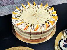 Orange cake Birthday Cake, Cupcakes, Orange, Desserts, Food, Decorations, Tailgate Desserts, Birthday Cakes, Cupcake