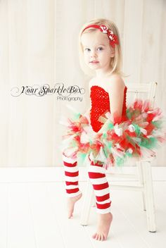 christmas - not sure about her styling, but i kind of like the white background for christmas pictures.