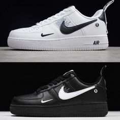 buy online a8443 ef21d Clothing Shoes and Accessories 158963  Nike Air Force 1 07 Lv8 Utility  Black White Mens