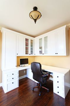 Craft area or computer workstation | home office | Pinterest ...
