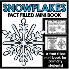 1st Grade Science, Preschool Science, Science Activities, Science Fun, Winter Activities, Snowflake Bentley, Learning Resources, Teaching Ideas, Facts For Kids