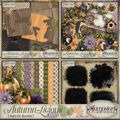 Autumn-Licious ~ Add-On Bundle By Jumpstart Designs
