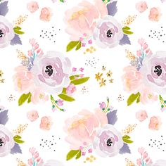 Baby Girl Nursery Florals Fabric - Indy Bloom Design Peachy Plum B By Indybloomdesign -Watercolor Cotton Fabric By The Yard With Spoonflower by Spoonflower on Etsy https://www.etsy.com/listing/525331195/baby-girl-nursery-florals-fabric-indy