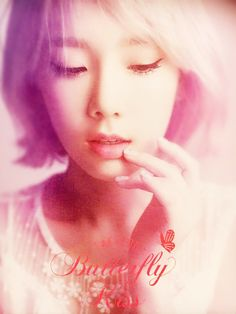 160709 Taeyeon's First Solo Concert 'Butterfly Kiss' poster SNSD Taeyeon