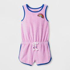 Toddler Girls' Romper - Cat & Jack™ Pink Violet : Target