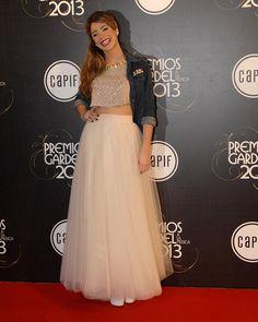 "Martina Strossel ""Violeta"" Premios Gardel 2013"