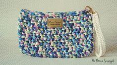 Carteira de Crochê com Malha por Bruna Szpisjak | www.brunacrochetdesigner.com