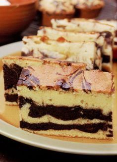 Marble Butter Cake | fulldesserts