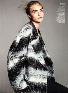 Vogue-Oct-2013, Marni Coat. Marni reminds me of Prada in the 1990's. I miss that Prada- all the cool squares and clothes made from quilted drapery.