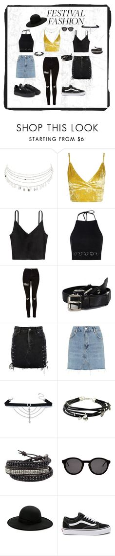 """Untitled #15"" by saarailonaa on Polyvore featuring Charlotte Russe, Boohoo, Topshop, Miu Miu, Miss Selfridge, NOVICA, Thierry Lasry, Betmar, Vans and Puma"