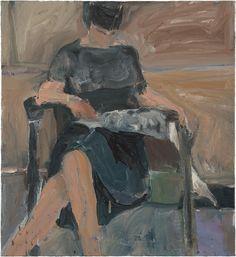 richard diebenkorn(1922–93), untitled, 1961. oil on canvas, 61 x 55.9 cm.