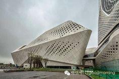 Nanjing Youth Olympic Centre Zaha Hadid
