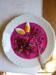 grain de sel - salzkorn: Erfrischung - litauische kalte Rote-Bete-Suppe