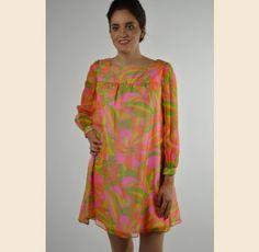 Psychedelic Daze Cocktail Dress - $65.00