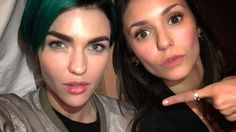 Nina Dobrev, Ruby Rose Romance? 'Vampire Diaries' Star Calls Aussie a 'Force to be Reckoned With' - http://www.australianetworknews.com/nina-dobrev-ruby-rose-romance-vampire-diaries-star-calls-aussie-force-reckoned/