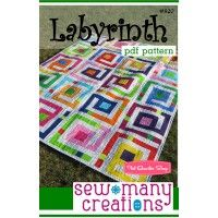 Sew Many Creations Labyrinth Downloadable PDF Quilt PatternSew Many Creations