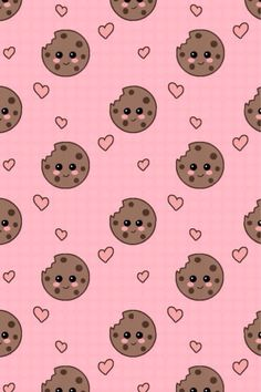 Choc Chip Cookies Wallpaper.