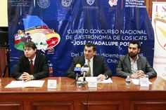 CHIHUAHUA SERÁ CAPITAL CULINARIA POR SER LA SEDE DEL CUARTO CONCURSO NACIONAL DE GASTRONOMÍA
